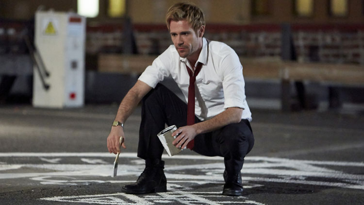 Matt Ryan as John Constantine.